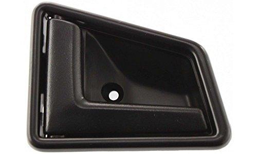 Evan-Fischer EVA18772050453 New Direct Fit Interior Door Handle for SIDEKICK 89-98 FRONT LH Inside Plastic Smooth Black 4-Door Replaces Partslink# (Suzuki Sidekick Front Door)
