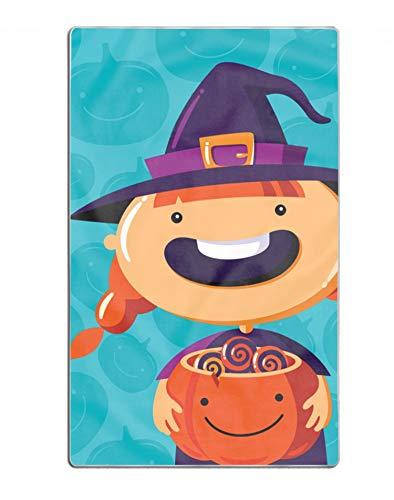 EHLMGSC Halloween Poster Trick Or Treat Custom Luxury Bath Towel for Beach, Spa, Pool, Bath, Gym 31.5 x 51.2 -
