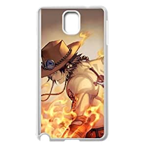 Portgas D Ace Samsung Galaxy Note 3 Cell Phone Case White Phone Accessories JV248527