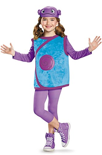 Mememall Fashion Home Movie Oh Alien Deluxe Child Costume (Alien Princess Costume)