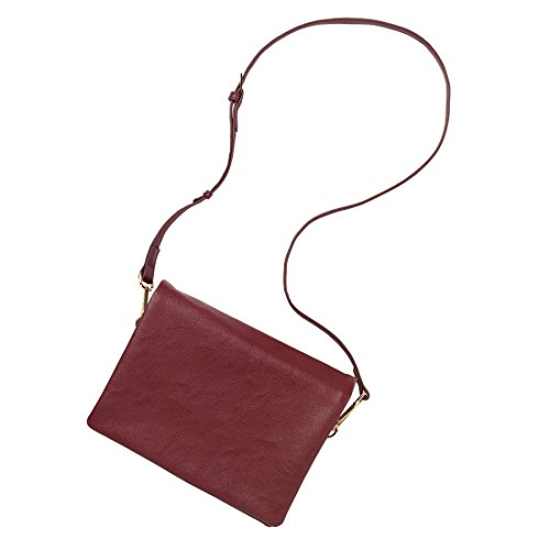 Wholesale Boutique Palmer Crossbody Hand Bag, Wine