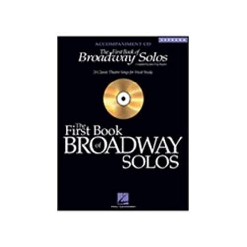 Hal Leonard The First Book of Broadway Solos - Soprano - Accompaniment CD - Vocal Collection