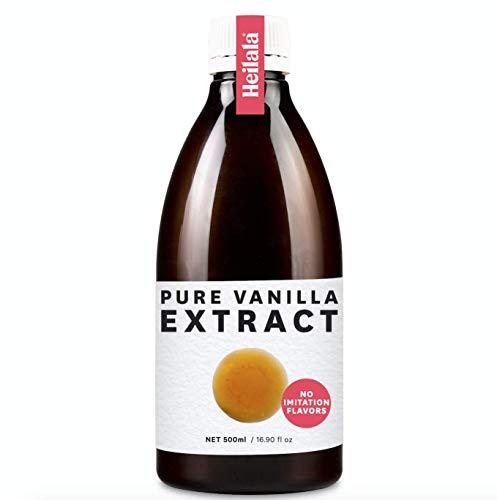Extracto De Vainilla Heilala Pura Seleccionados A Mano De Origen Etico Libre De Azucar Sin Sabores De Imitacion 500ml Pure Vanilla Extract