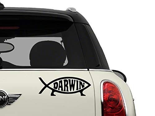 Bumper Sticker Darwin - SCI-FI/Comics/Games Decals Darwin Fish Automotive Decal/Bumper Sticker
