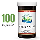 Nature's Sunshine Hydrangea, 100 Capsules | 650mg of Pure Hydrangea Root Supports The Urinary System and Kidneys with its Natural Solvent Qualities