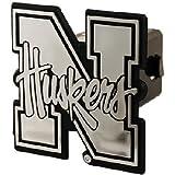 NCAA Nebraska Cornhuskers Car Trailer Hitch Cover