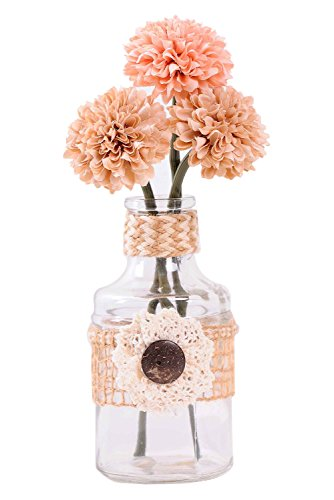 Mini-Artificial-Fake-Flower-with-Vase-for-Dining-Table-Decor-IndoorOutdoor-Decoration-Pink