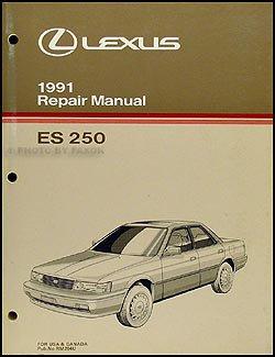 1991 lexus es 250 repair shop manual original lexus amazon com books rh amazon com 93 Lexus ES300 Repair Manual 93 Lexus ES300 Repair Manual