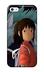 Iphone 5/5s Case Cover - Slim Fit Tpu Protector Shock Absorbent Case (spirited Away )