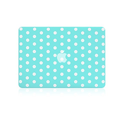TOP CASE Rubberized Macbook Turquoise