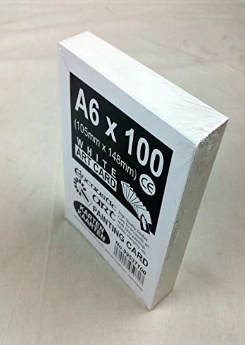 - Encaustic Art A6 X 100 Painting Cards for WAX Painting