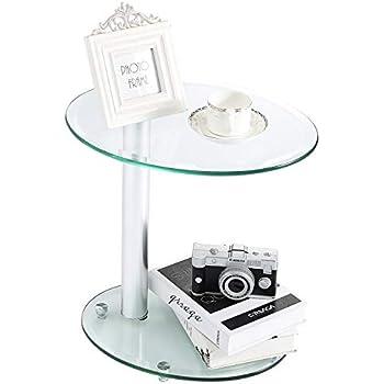 Amazon Com Mlf Eileen Gray End Table Adjustable Height