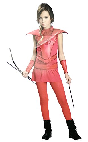 Hunger Games 2 Costumes (Totally Ghoul Red Heroine Huntress Costume, Size: Teen/Junior, 1-3)