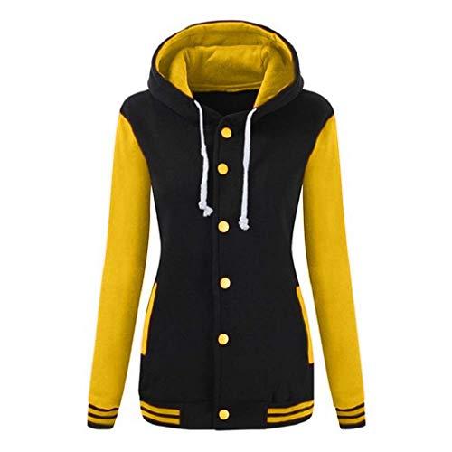 Luckycat Womens Winter Warm Baseball Hoodie Sport Sweatshirt Overcoat: Amazon.es: Ropa y accesorios
