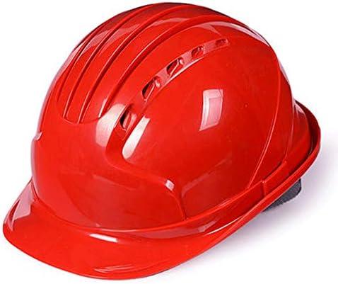 建設、工業用、空中作業、男性用の通気安全ヘルメット (Color : F)