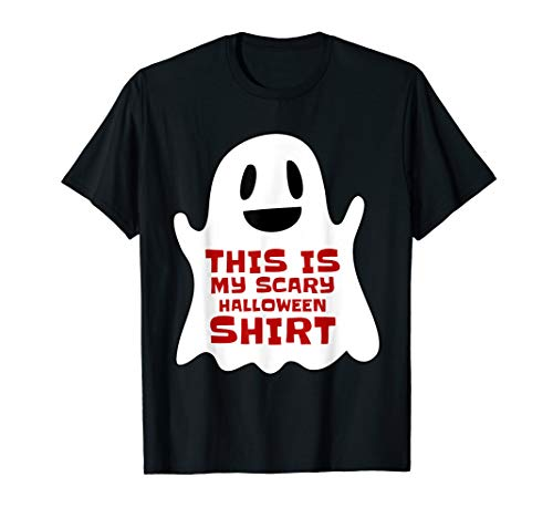This Is My Scary Halloween Shirt Tee For Teachers -