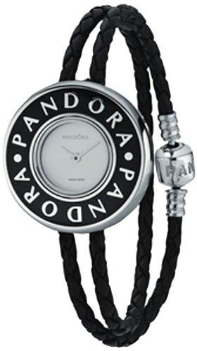 Pandora 811039LS-D2 - Reloj analógico de cuarzo para mujer con correa de piel,
