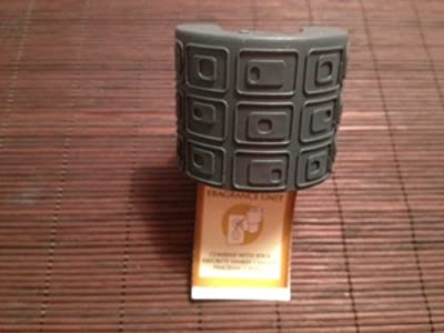 Yankee Candle Electric Home Fragrance Unit - Dark Gray Squares