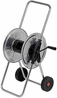 Agrati 216 Babycar - Carro enrollador de manguera de 1/2 pulgada (50 m), manual, para jardín (manguera no incluida): Amazon.es: Bricolaje y herramientas
