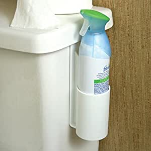 Amazon Com Bathroom Toilet Air Freshener Spray Can Holder