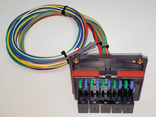 Concours Specialties Universal Waterproof Relay  Fuse Distribution Box Cooper Bussmann W  Ground