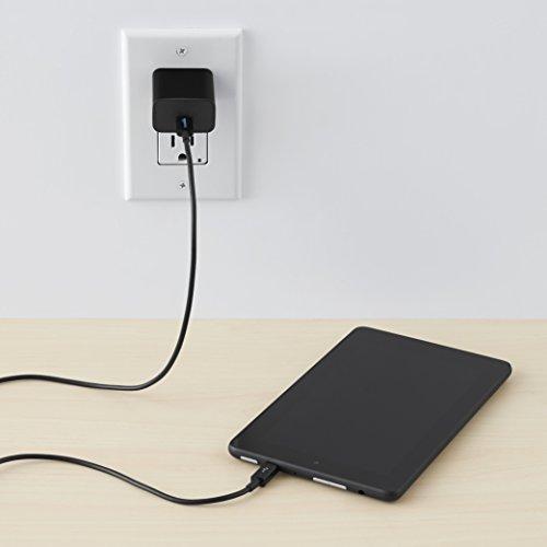 AmazonBasics USB Type-C to Micro-B 2.0 Cable - 3 Feet  (0.9 Meters) - Black Photo #3