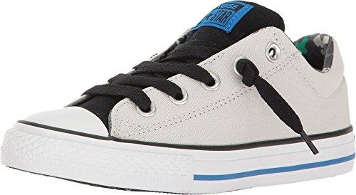 Converse Black Slip - Converse Kids Chuck Taylor All Star Street Slip Shoes - Mouse/Black/Soar - Boys - 5