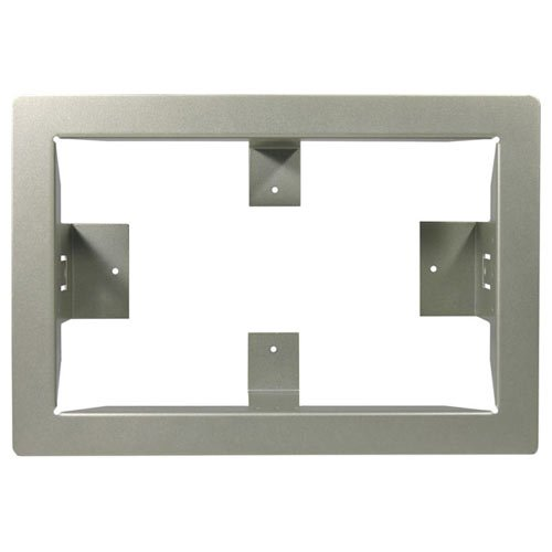 Linear Trim Ring for RE-2 Residential Telephone Entry Controller, Nickel Finish (ACP00915) (Telephone Controller Entry)