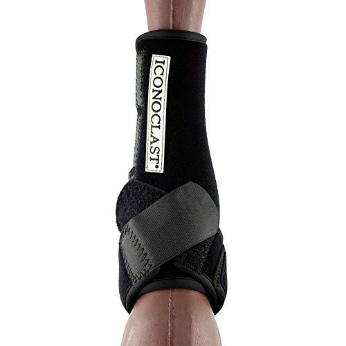 (Iconoclast Orthopedic Support Boots - Hind Legs (Black, Medium))