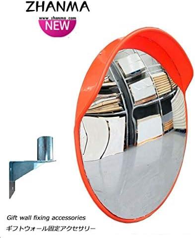 カーブミラー 交通凸面鏡、HD PCフレームワークLndoor広角スーパーマーケット盗難防止地下ガレージミラー、取付金具を送ります RGJ4-11 (Size : 800mm)