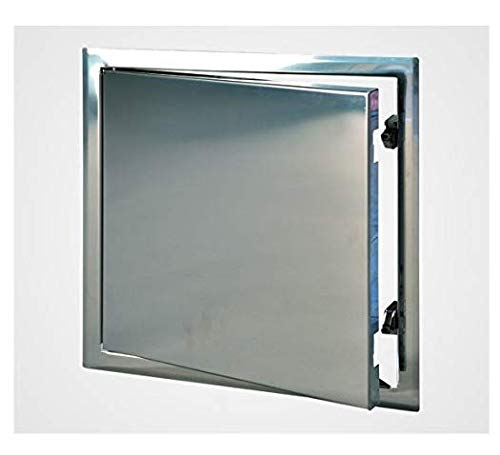 12x12 Stainless Steel Access Door with Touch Latch for Walls and Ceilings, ()