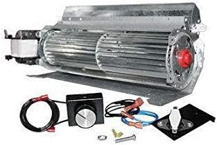 SkyTech GFK-4 Temperature Controlled 165 CFM Fireplace Blower Fan Kit with Speed Control Knob FK-165-RT