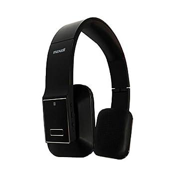 Maxell MXH-BT600E - Auriculares de diadema cerrados inalámbricos (con micrófono, Bluetooth, 3.5 mm), negro: Amazon.es: Electrónica