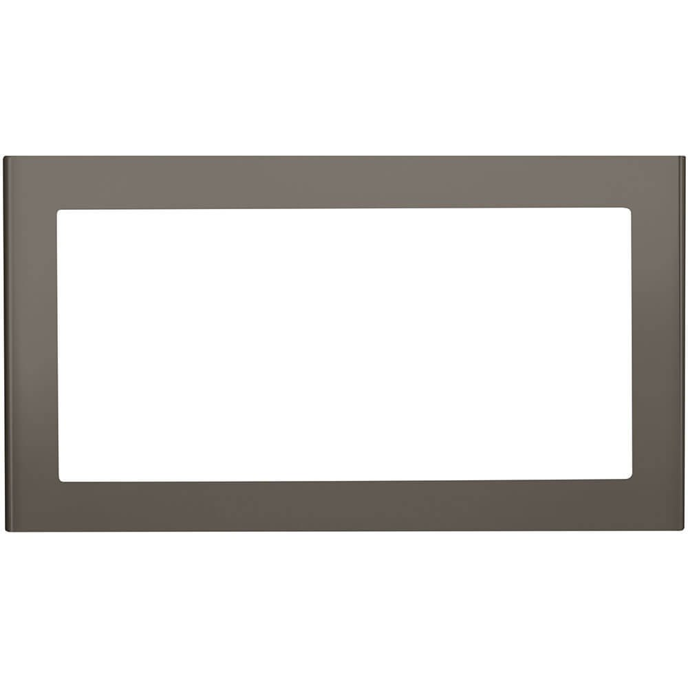 "GE 27"" Slate Deluxe Built-In Microwave Oven Trim Kit"