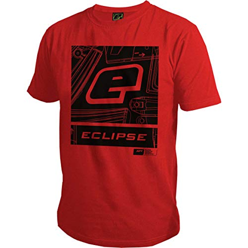 - Planet Eclipse Pro-Formance T-Shirt - Icon (Red, Large)