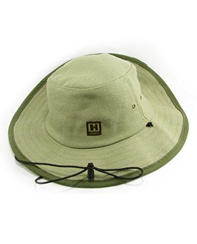 Hempy's Hemp Baja Explorer Sun Hat (Green)