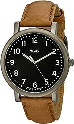 Timex Unisex T2P222AB Originals Analog Display Quartz Brown Watch