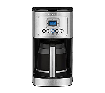 Cuisinart 14-Cup Programmable Coffeemaker - Stainless Steel/White