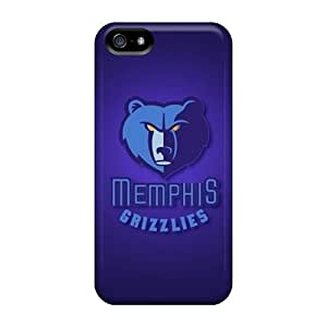 For Iphone 5/5s Protector Cases Memphis Grizzlies Phone Covers