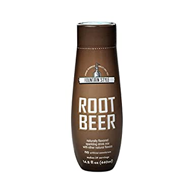 SodaStream Root Beer Syrup, 14.9 Fluid Ounce