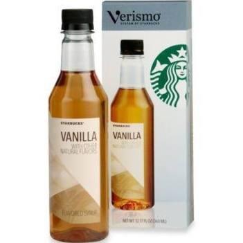 Starbucks Vanilla Verismo Group Flavored Syrup 12.17 Fl Oz.