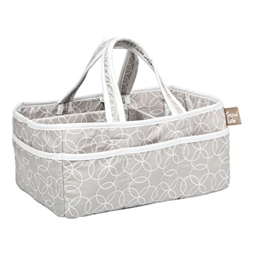 Trend Lab Circles Gray Storage Caddy - Trend Lab Cotton
