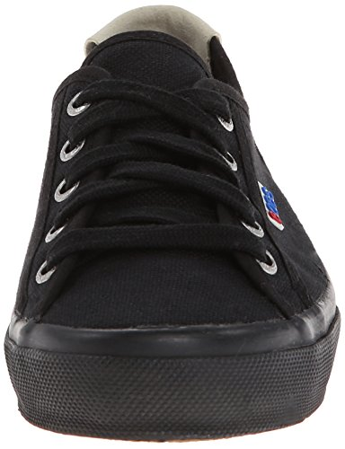Skechers Mujeres Le Club Brentwood Lace Up Sneaker Negro / Negro