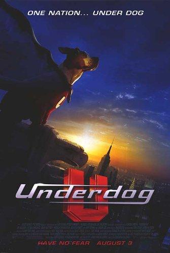 Underdog Poster - Underdog Movie Poster Double Sided Original 27x40