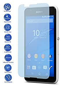 Ilovemyphone - Protector de Pantalla Cristal Templado para Sony Xperia E4 D2202, D2203