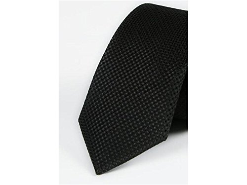 Casual Fashion Fashionable Party Wedding Black Solid Formal Occasion Kxrzu for Color Men's Necktie and qPRRFC