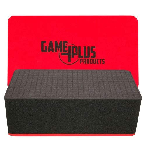 Foam Game Plus Pluck Tray Storage Case (4 Inch)