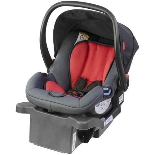 phil&teds Alpha Infant Car Seat, Flint/Red