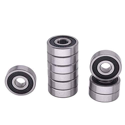"5 CNC 1//2/"" Drive Shaft Support Bearings R8-ZZ Shielded Premium Bearing ABEC3"