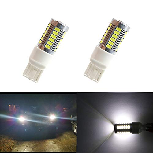 Dantoo Lumens Extremely Bright 2 x T20 7440 7443 LED Reverse Light Bulbs 33 SMD For Back Up Reverse Lights or Tail Brake Lights,Xenon White(6000K)
